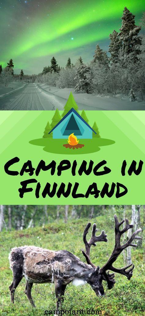 Finnland lockt mit einer wunderschönen Landschaft und einer einzigartigen Natur. Egal, ob im Sommer oder Winter - Finnland ist das Traumland für alle, die Camping lieben. Wohnmobil, Zelt oder Wohnwagen - Camping in Finnland solltest du erlebt haben. Ob Lappland oder Helsinki, dieses nordische Land hat viel zu bieten. Wir haben jede Menge Reisetipps und Informationen zum Thema Camping in Finnland. #finnland #camping #outdoor #tipps #reisetipps #natur #landschaft