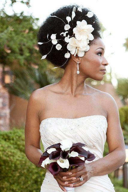 Bold & Beautiful (color) #wedding #hair #accessory