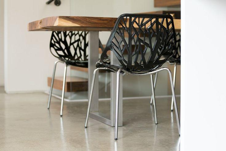"Beautiful Birch Sapling Chair, BLACK, Set of Four ""TAKE5"" for 5%"
