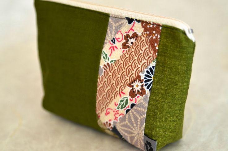 KOMACHI Täschchen - genäht von NORIKO handmade www.noriko-handmade.de #Japan #japanische #Stoffe