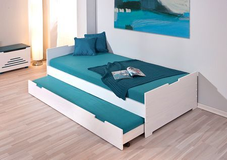 Eenpersoonsbedden / Bed Mara 1 met logeerbed