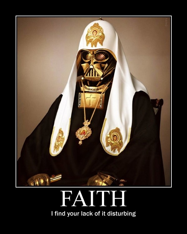 Pope Vader - funny pictures - funny photos - funny images -