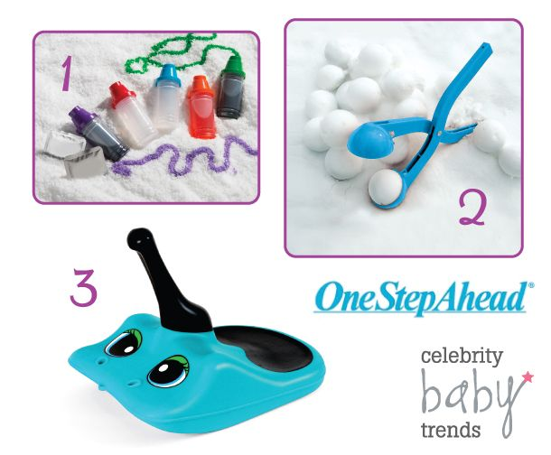 Come visit celebritybabytrends.com to enter for your chance to win One Step Ahead Snow Day Fun Pack!!! #winsnowdayfun