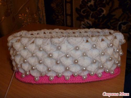 Here, at last, the promised MK handbag. - Knitting for children - Home Moms