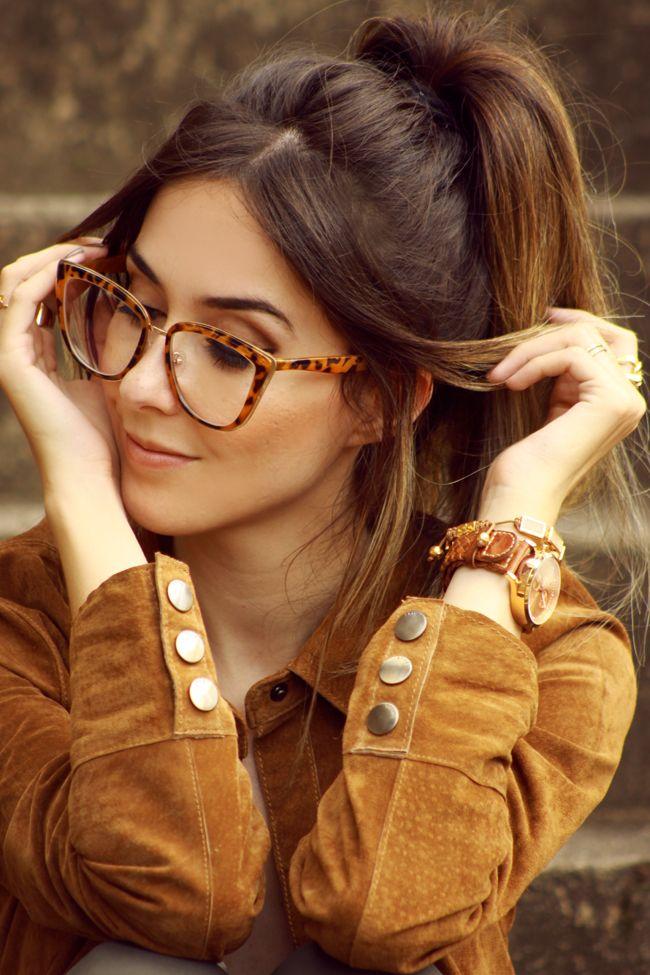 FashionCoolture - 07.01.2016 look du jour Dafiti brown suede shirt denim pants (5)