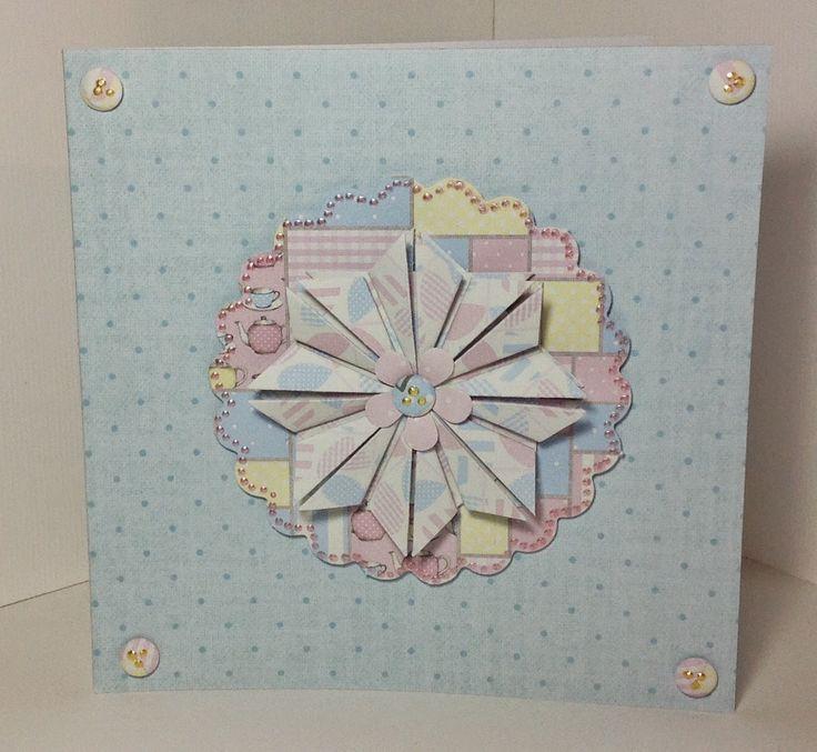 Craftwork Cards Blog: Folded Flower Tutorial!