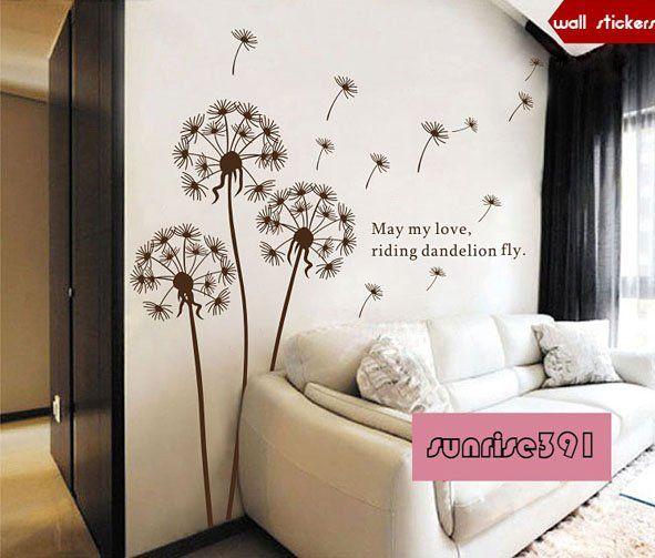 Die besten 25+ Brown wall stickers Ideen auf Pinterest Wanddekor - wandtattoo braune wand