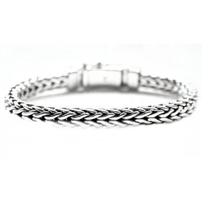 Man Silver Bracelet - Bracciale Uomo Argento