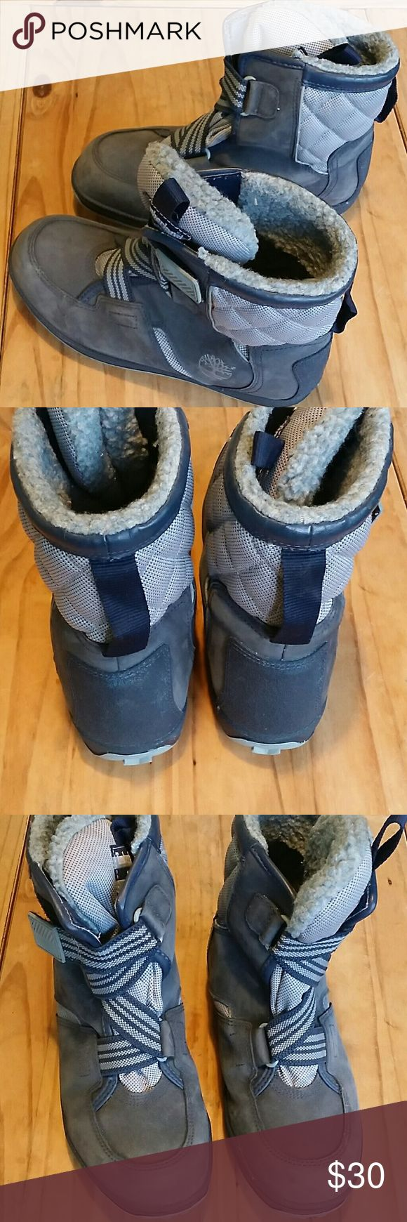 Timberland Winter Boots Waterproof winter boots by Timberland   Size Conversion:  Kids size 6 converts to women's size 8 Timberland Shoes Rain & Snow Boots