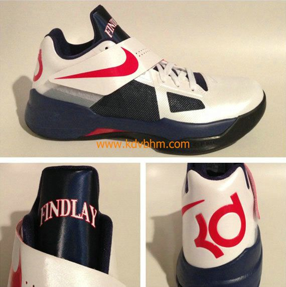 KD IV Findlay High School PE Kevin Durant Sneakers 2012 Cheap