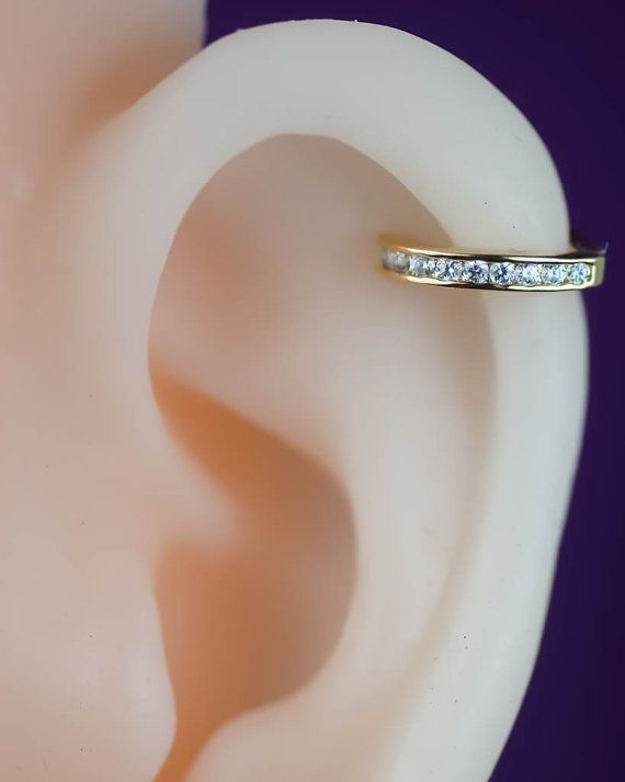 cartilage earring hoop cartilage hoop cartilage by CBOstudio
