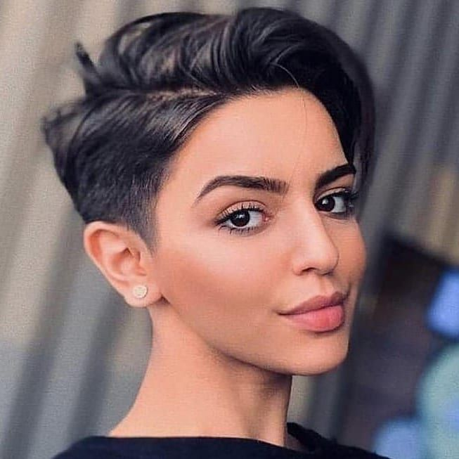 Shearwise On Instagram We Love This Photo From Luissa Mv Pixiepaloo Pixie Haircut For Thick Hair Short Hairstyles For Women Thick Hair Styles