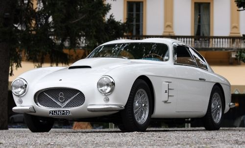 MazarattiFiat 8V, 1953 Fiat, 8V Zagato, Automobilefiat Italy, Fiat 1953, Fiat Otto, Automotive Portraits, Exotic Cars, Automotive Art