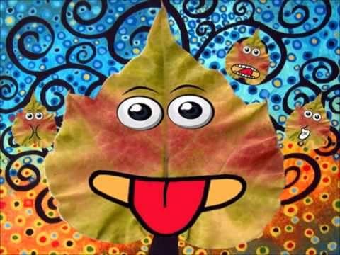 Practicamos las praxias con las hojas de otoño