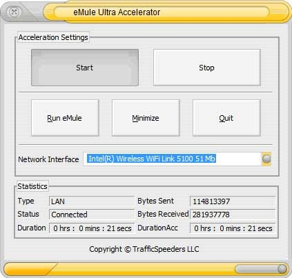 This impressive add-on really proves out his name. eMule Ultra Accelerator stands for extra functionality which is never redundant when it comes to downloading your favourite files whether music, movies, applications, games or other. This tool is straightforward, it has a clear task and it simply does its job which is getting you full speed with your download. It can do this by making the most of your available connection bandwidth and by optimizing web connection settings. Its advantage…