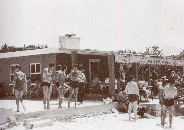 Playa Azul en Samíl. Vigo. Sin datar.