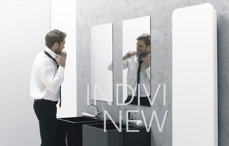 Lubisz elegancję, styl i nowoczesność? Wybierz precyzyjnie wykonany grzejnik z serii Indivi New, który dzięki jego specjalnemu ekranowi możesz użyć jako lustra.