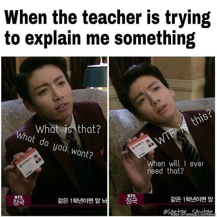 Best 23 Relatable Memes School Thug Life Meme Bts School Bts Memes Hilarious School Memes