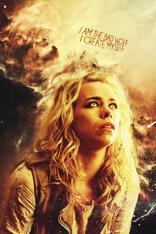 "Rose Tyler: "" I can see the whole of time and space."" #doctorwho"