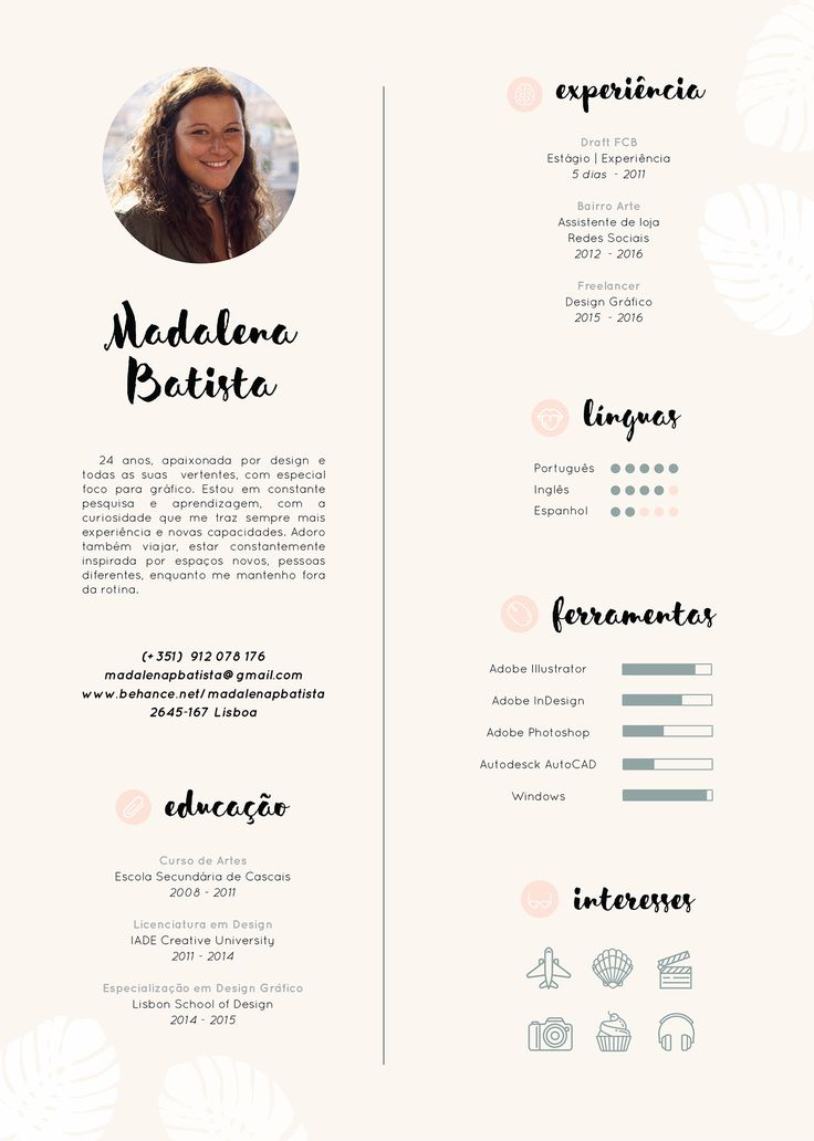 34 best Resume images on Pinterest Cv design, Resume design and - personal skills for a resume