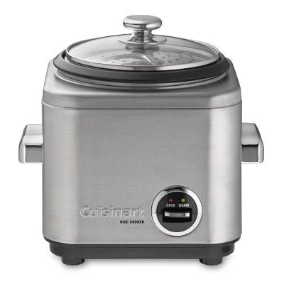 I love the Cuisinart Electric Rice Cookers on Williams-Sonoma.com