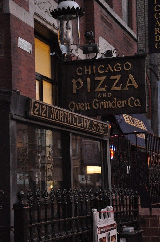 Chicago Pizza and Oven Grinder . One of my favorite all time restaurants! Yumm!!
