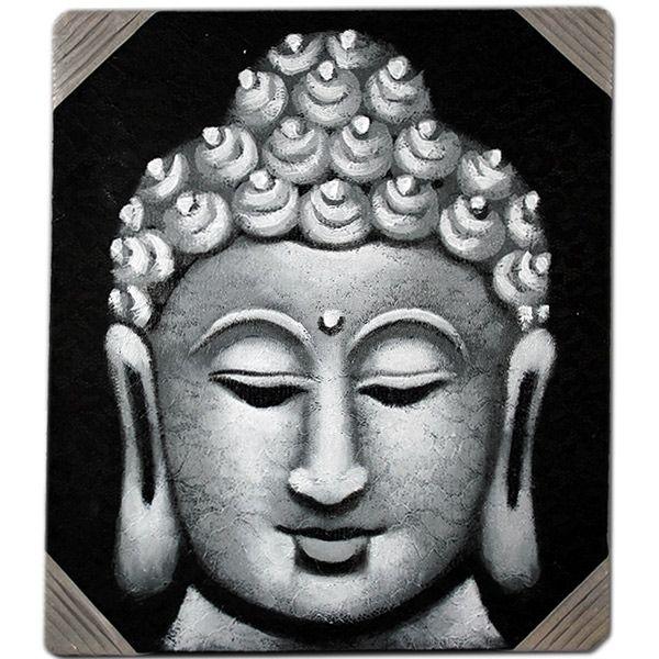 Joli tableau bouddha de BALI http://www.duthédanslathéière.com/produit/tableau-bouddha-40x35-peinture-balinaise