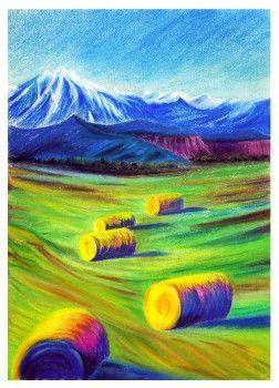 Pastel, Laura Mateescu, www.curspictura.ro