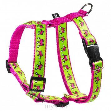 Szelki dla psa GREEN QUEEN, szelki typu guard, regulowane szelki dla psów MYSMO  #szelkidlapsa #szelki #dlapsa