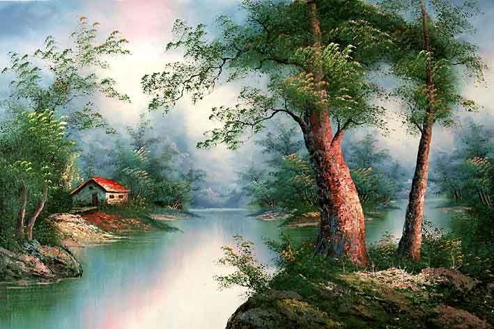 Classic Landscape of I. Cafieri | PINTURAS PAISAJES ...