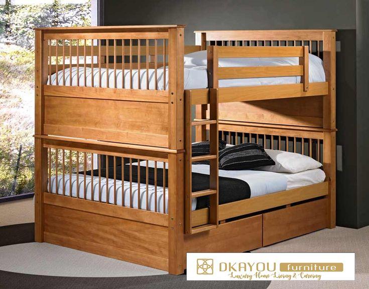 Tempat Tidur Anak Tingkat Jati 09
