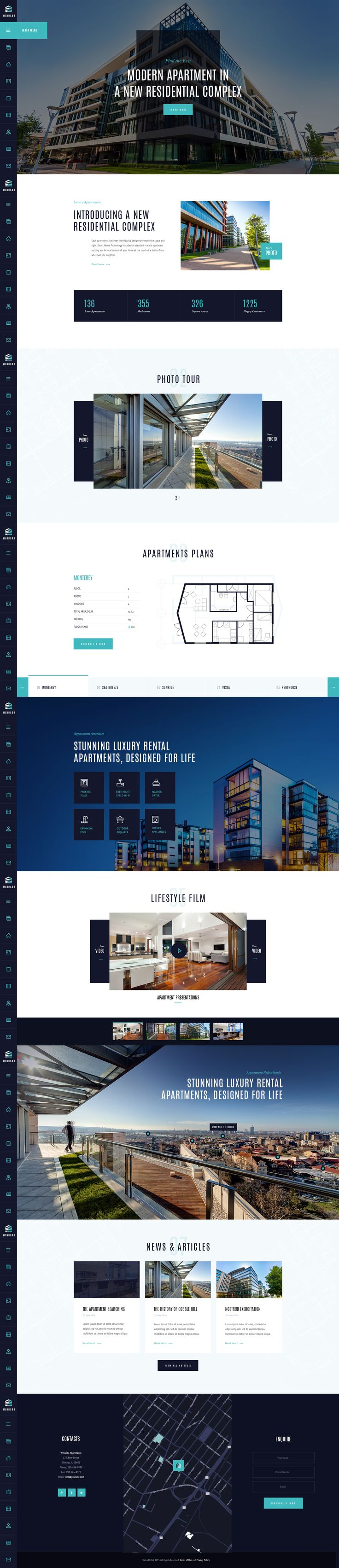 Windsor is a splendind solution for online presentation of a newly built apartment complex, office center or a house. You can use the theme to sell single property object or modify it as a corporate page for real estate agency. We are sure, the theme will…