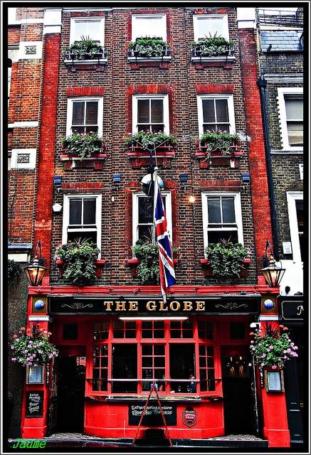 The Globe near Covent Garden London´