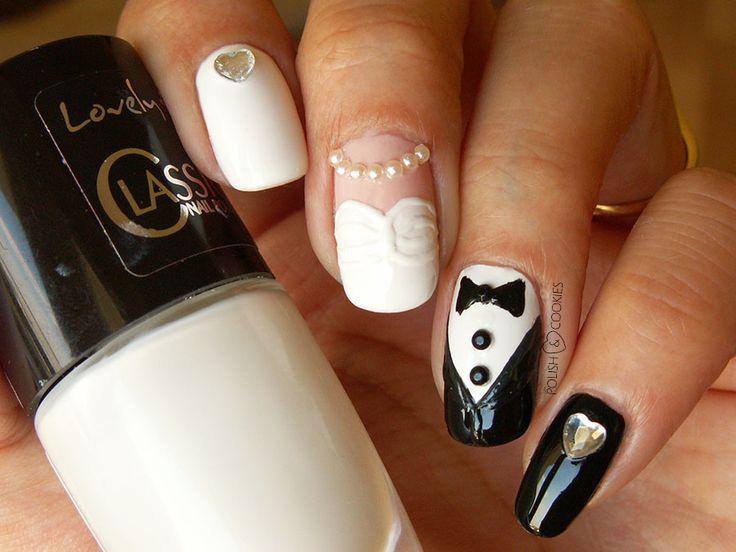 Wedding Nails Nail Art Paznokcie ślubne