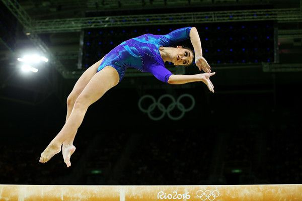 Aliya Mustafina Photos Photos - Aliya Mustafina of Russia competes on the balance beam during the Women's Individual All Around Final on Day 6 of the 2016 Rio Olympics at Rio Olympic Arena on August 11, 2016 in Rio de Janeiro, Brazil. - Gymnastics - Artistic - Olympics: Day 6