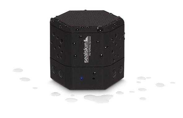 Sealskin bluetooth speaker. Neem je muziek overal mee naartoe!