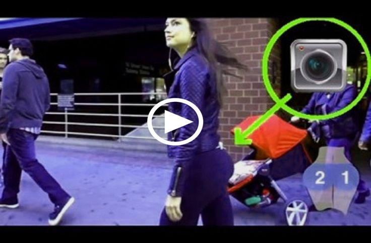 """Una ragazza si inserisce una telecamera nascosta sui pantaloni..In quanti hanno """"curiosato""""..? Che ne pensate?"""