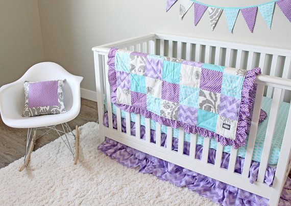 37 best navy purple nursery images on pinterest accent pillows baby girl nurserys and crib. Black Bedroom Furniture Sets. Home Design Ideas