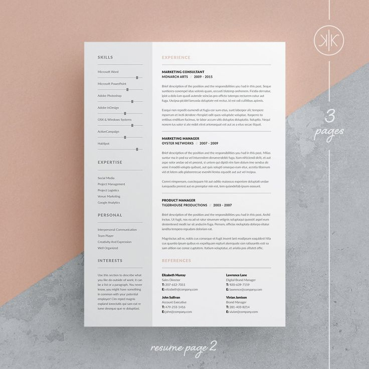 Populaire 85 best CV images on Pinterest | Cv template, Resume templates and  ZX69