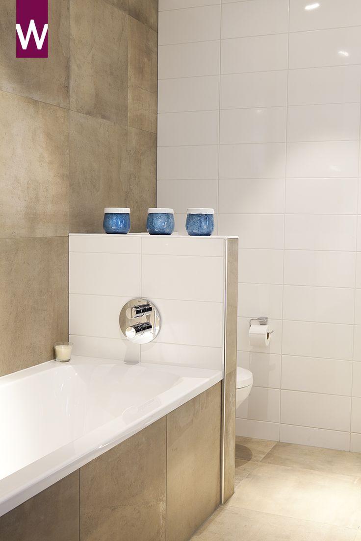 Pure #badkamer bij Van Wanrooij in Waardenburg. Bekijk meer badkamer ideeën: http://www.vanwanrooij-warenhuys.nl/badkamers/badkamer-ideeen/