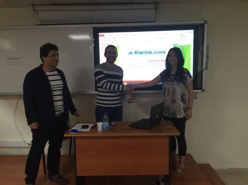 #Bilişim alanına özel ilk ve tek #kariyer sitesi Kariro.com ailesine bir ödül de Arel Üniversitesi'nden geldi...https://www.facebook.com/karirocom  I #teknoloji #staj #stajyer #arel #üniversite #sosyalmedya #dijitalpazarlama
