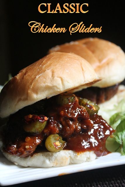 YUMMY TUMMY: Classic Chicken Sliders Recipe