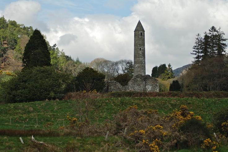 Ancient monastery of Glendalough, Co Wicklow, Ireland