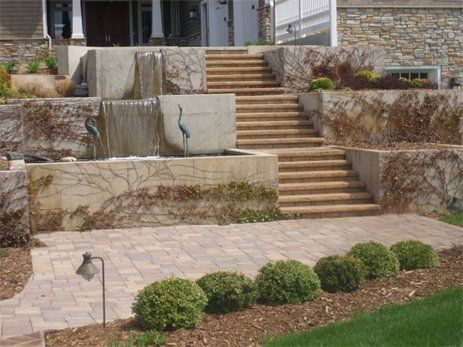 1000 ideas about concrete retaining walls on pinterest for Pouring concrete walls