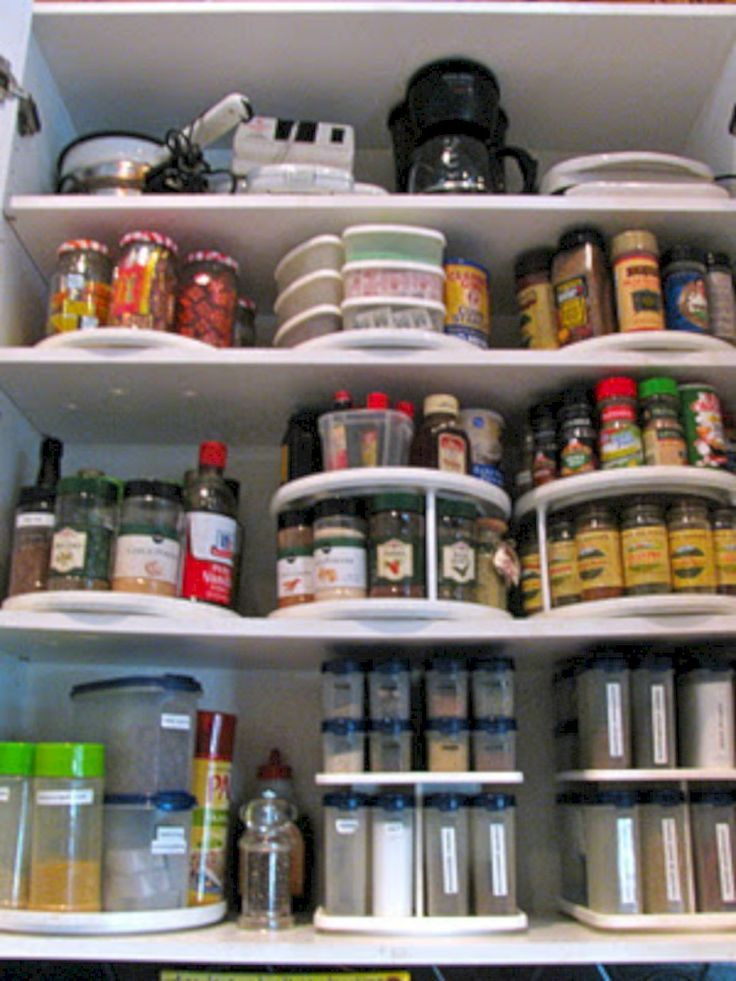 Best 25 Spice Cabinet Organize Ideas On Pinterest Kitchen Spice Rack Design Kitchen Rack