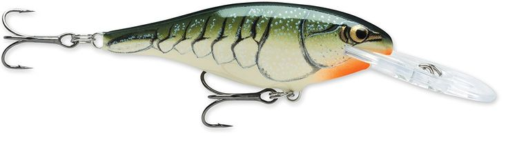 Rapala Shad Rap 07 Fishing lure, 2.75-Inch, Olive Green Craw ** You can get additional details at the image link.