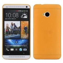 Carcasa HTC One - Ultra fina 0.3mm Naranja  $ 10.683,16