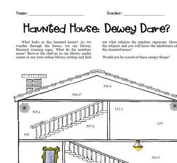 DEWEY DARE? A HAUNTED NONFICTION ACTIVITY PERFECT FOR HALLOWEEN! - TeachersPayTeachers.com