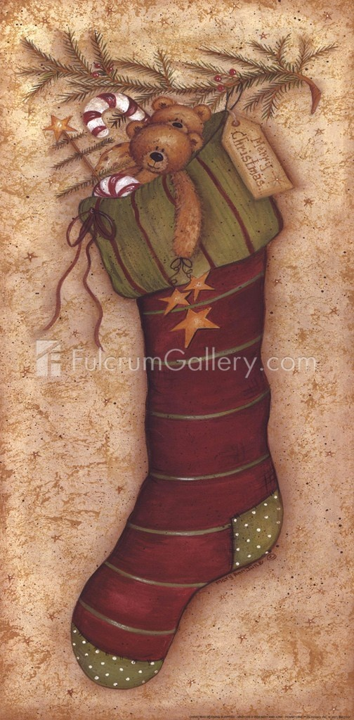 Christmas Morning Surprise Fine-Art Print by Mary Ann June at FulcrumGallery.com