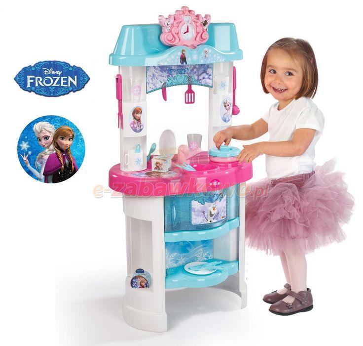 SMOBY KUCHNIA FROZEN KRAINA LODU 24498 - KUCHARZ - sklep z zabawkami e-zabawkowo.pl